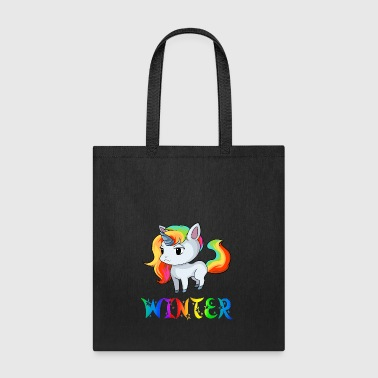 Winter Unicorn - Tote Bag
