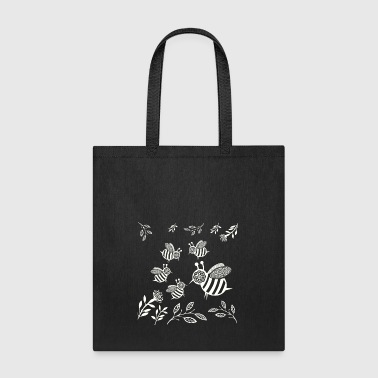 GIFT - HONEY BEE WHITE - Tote Bag