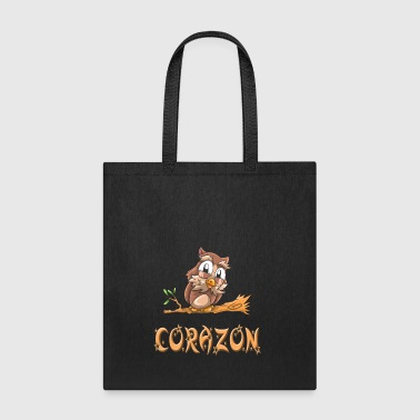 Corazon Owl - Tote Bag