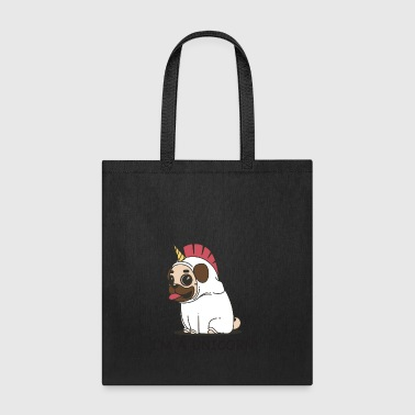 Pug Unicorn - Tote Bag