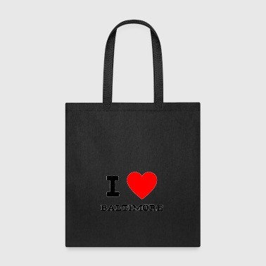 i love Baltimore - Tote Bag