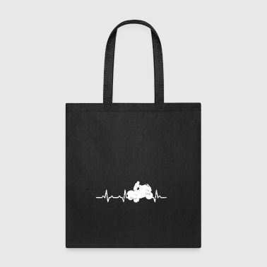 ATV Quad Bike Heartbeats Gifts T-shirts - Tote Bag