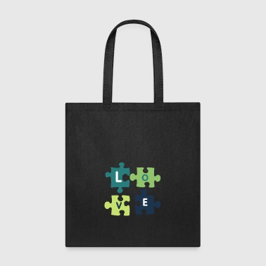 Puzzle Love - Tote Bag