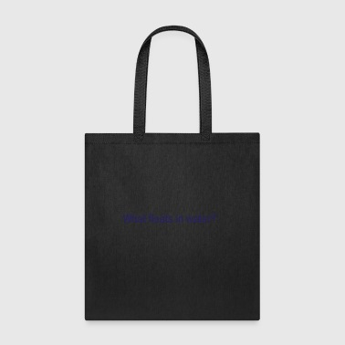What floats in water - Tote Bag