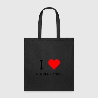 I love Golden Sands - Tote Bag
