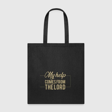 Psalm 121:2 My help comes from the lord.Christian - Tote Bag