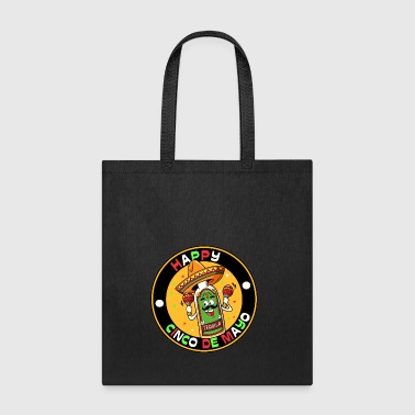 HAPPY CINCO DE MAYO, gift, party, fiesta, tequila - Tote Bag