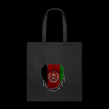 Funny Afghanistan Flag Ripped Abs Muscles - Tote Bag