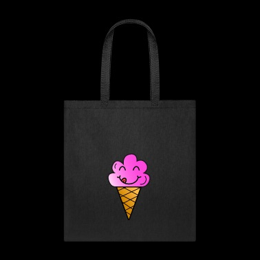 Ice cream children present summer hungry funny - Tote Bag