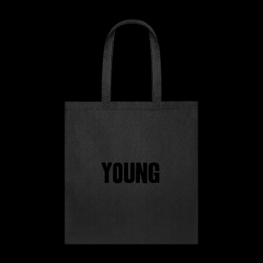 young shirt life-loving fun gift idea - Tote Bag