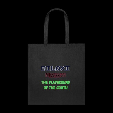 Biloxi Mississippi Playground Of The South Shirts - Tote Bag