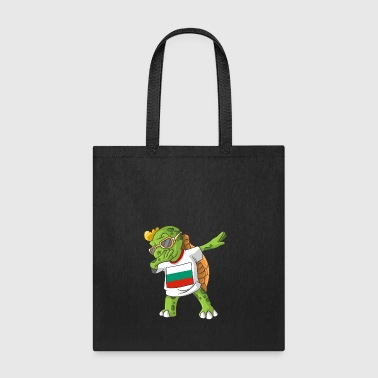 Bulgaria Dabbing Turtle - Tote Bag