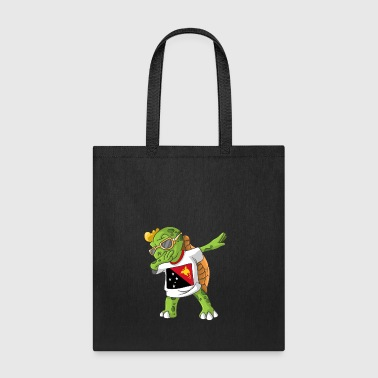 Papua New Guinea Dabbing Turtle - Tote Bag
