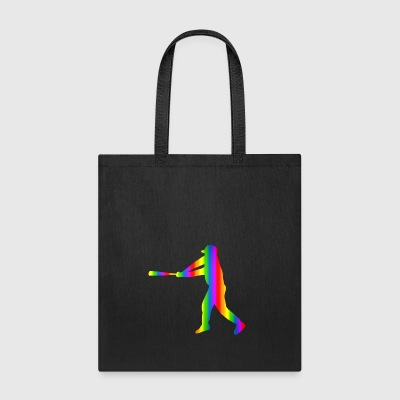 Colorful baseball Rainbow - Tote Bag