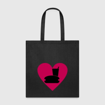 I love fast food - Tote Bag