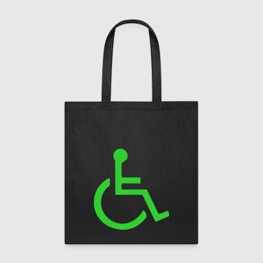 Wheelchair symbol mailto - Tote Bag