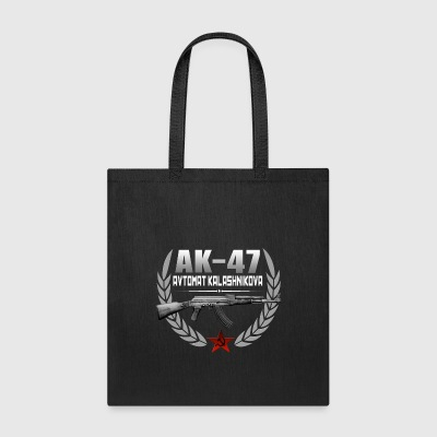 AK 47 RUSSIAN RIFLE - Tote Bag