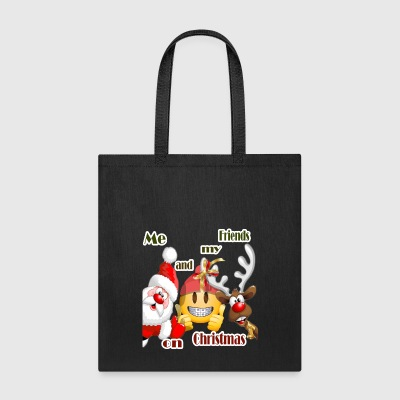Me and my Friends on Christmas by Cc Arts Designs - Tote Bag