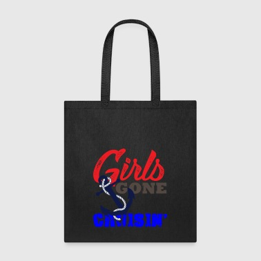 Girls Gone Cruising Unisex Shirt Girls Trip TShirt - Tote Bag