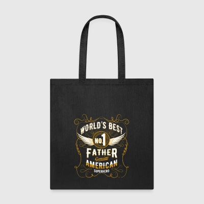 Daddy Father World´s best Dad Tshirt Present Men - Tote Bag