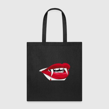 Vampire Teeth - Tote Bag