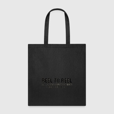 vintage reel to reel black - Tote Bag