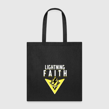 LIGHT LIGHTNING BOLT FAITH FLASH SHIRT - Tote Bag