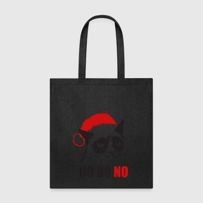 Grumpy Urly christmas cat - Tote Bag