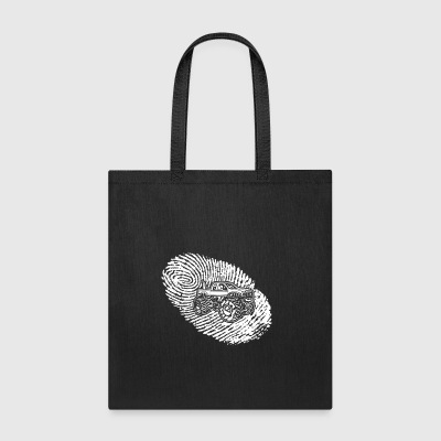 fingerabdruck dna dns geschenk Big Foot monster tr - Tote Bag