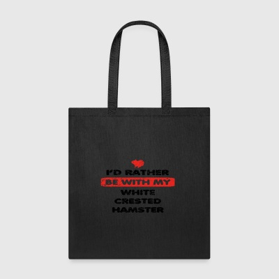 Guinea Meerschweinchen rather love WHITE CRESTED H - Tote Bag