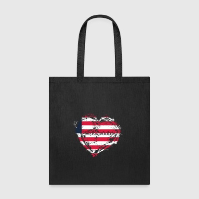 HOME ROOTS COUNTRY GIFT LOVE Liberia - Tote Bag