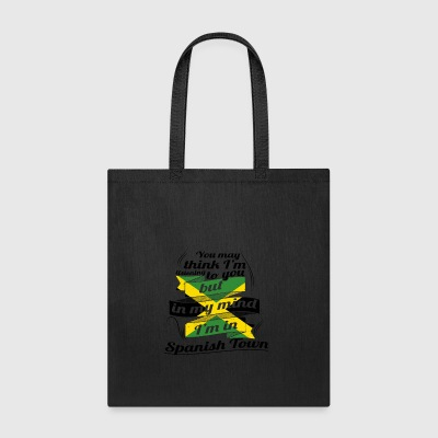 URLAUB jamaika ROOTS TRAVEL I M IN Jamaica Spanish - Tote Bag