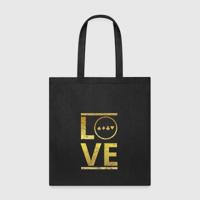 love calling profi king meister poker pokern - Tote Bag