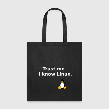 I know Linux - Tote Bag