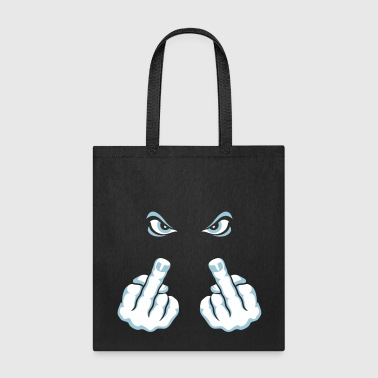 The Finger (Fuck Off / Fuck You) - Tote Bag