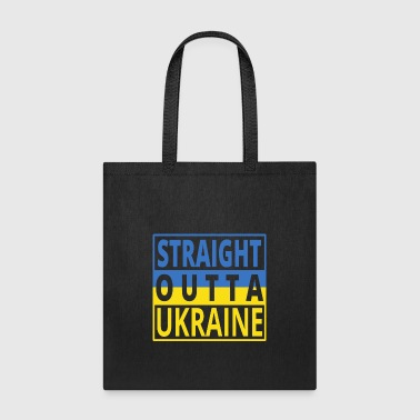 Straight outta UKRAINE png - Tote Bag
