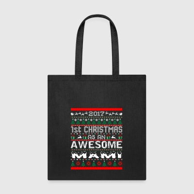 2017 First Christmas Awesome Mami Ugly Sweater - Tote Bag