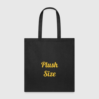 Plush Size - Tote Bag
