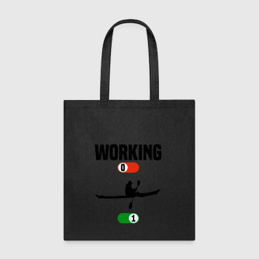 Working OFF boat water sport ON gift - Tote Bag