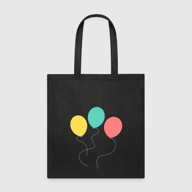 A balloon, two balloons, three balloons! - Tote Bag