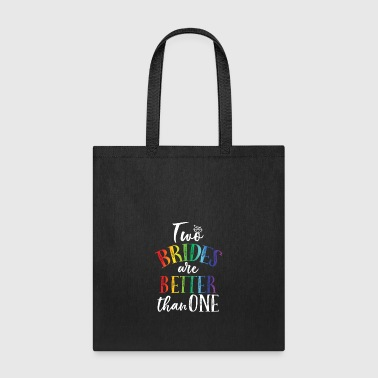 TWO BRIDES DIAMOND RAINBOW - Tote Bag