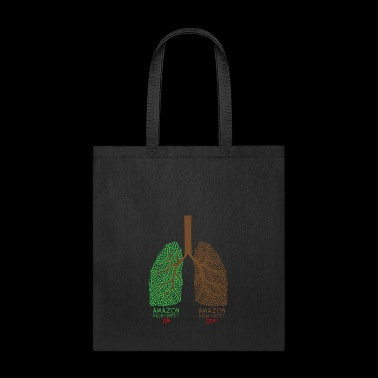 AMAZON RAINFOREST Awareness Earth Day Gift Design - Tote Bag