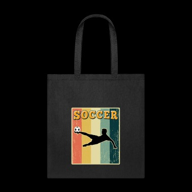 Vintage Retro Old School Soccer - Tote Bag