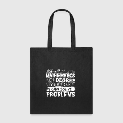 Mathematics Shirt - Tote Bag