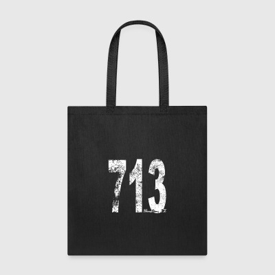 Vintage Houston Area Code 713 - Tote Bag