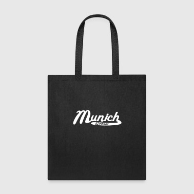 Munich Germany Vintage Logo - Tote Bag