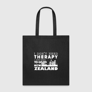 New Zealand Therapy Shirt - Tote Bag