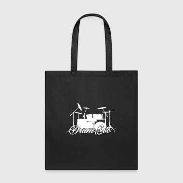 Drum Set Shirts - Tote Bag