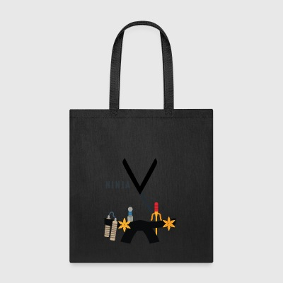 Ninja Costume Halloween Men Women Kids/Youth - Tote Bag