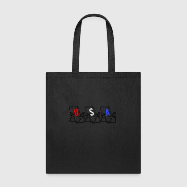 USA Chairs Ehite - Tote Bag